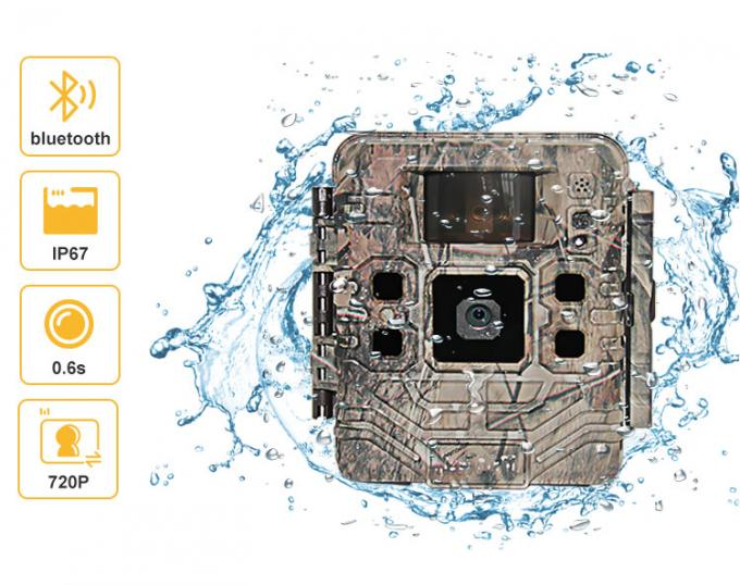 High Power Wildlife Trail HD Hunting Cameras LED USB / SD Card With Night Time Versions