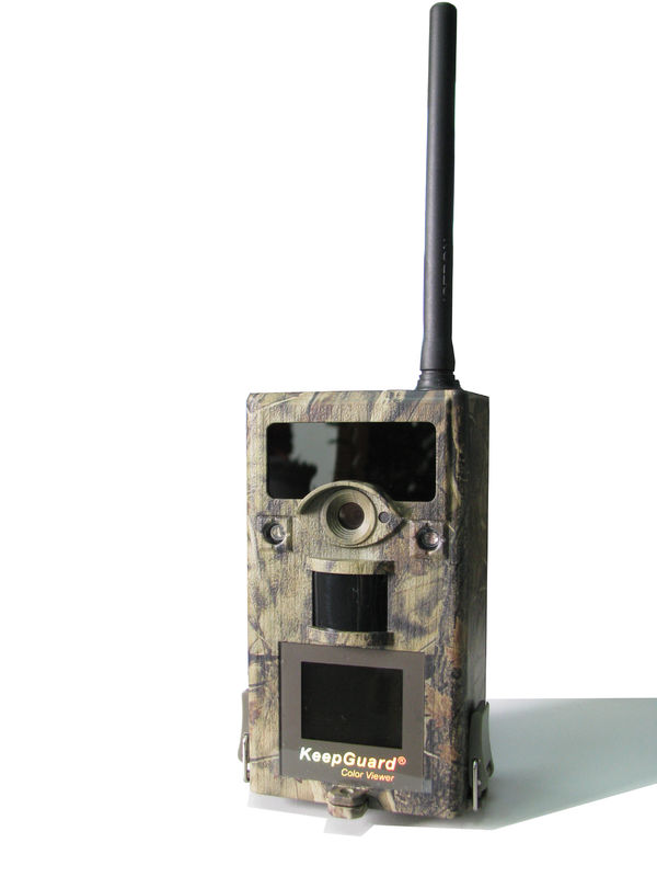 Outdoor 3G Wireless Wildlife Camera With Telephone / Computer Sim Card