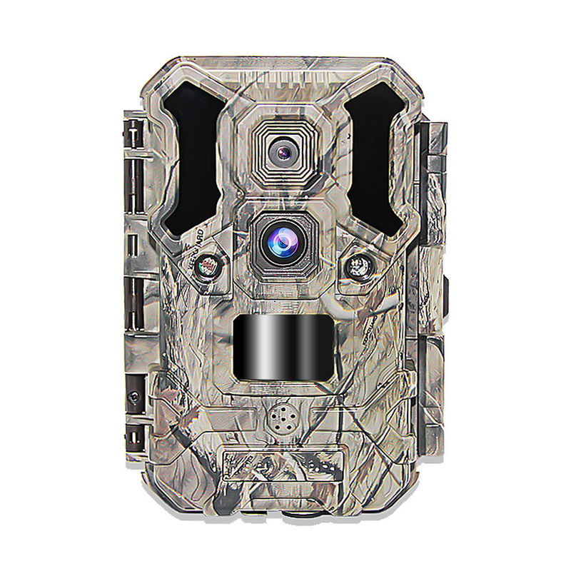 Programmable Waterproof 4G Hunting Camera / Double Sensor 4G Wildlife Camera