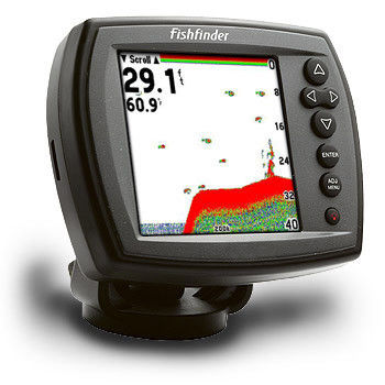 Professional Small Fishing Depth GPS Fish Finders / Tracker Finder