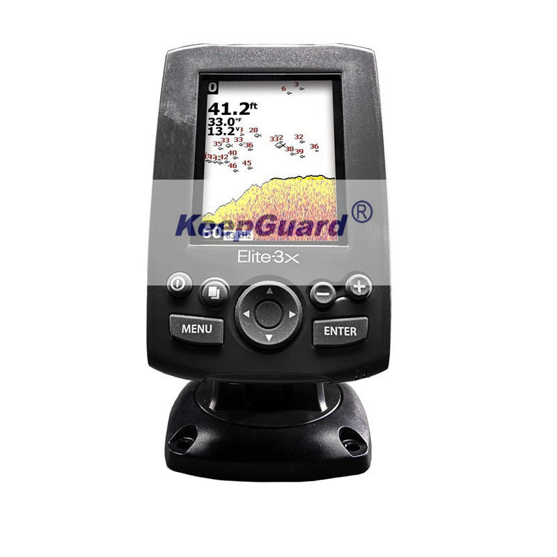 Portable Lowrance Elite 3x Colour Fishfinder with 23/150 Transducer