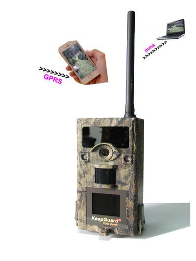 GSM GPRS Thermal Imaging MMS Trail Camera12MP HD Wireless Hunting Camera