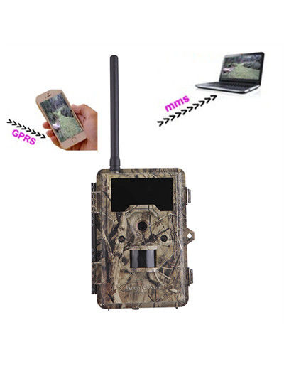 Outdoor SMS Control 12MP MMS Trail Camera Motion Activated Camera Wildlife